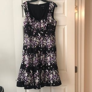 Floral dress from White House Black Market